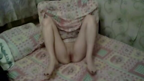 Russian whore prostitute Lisa posing on bed